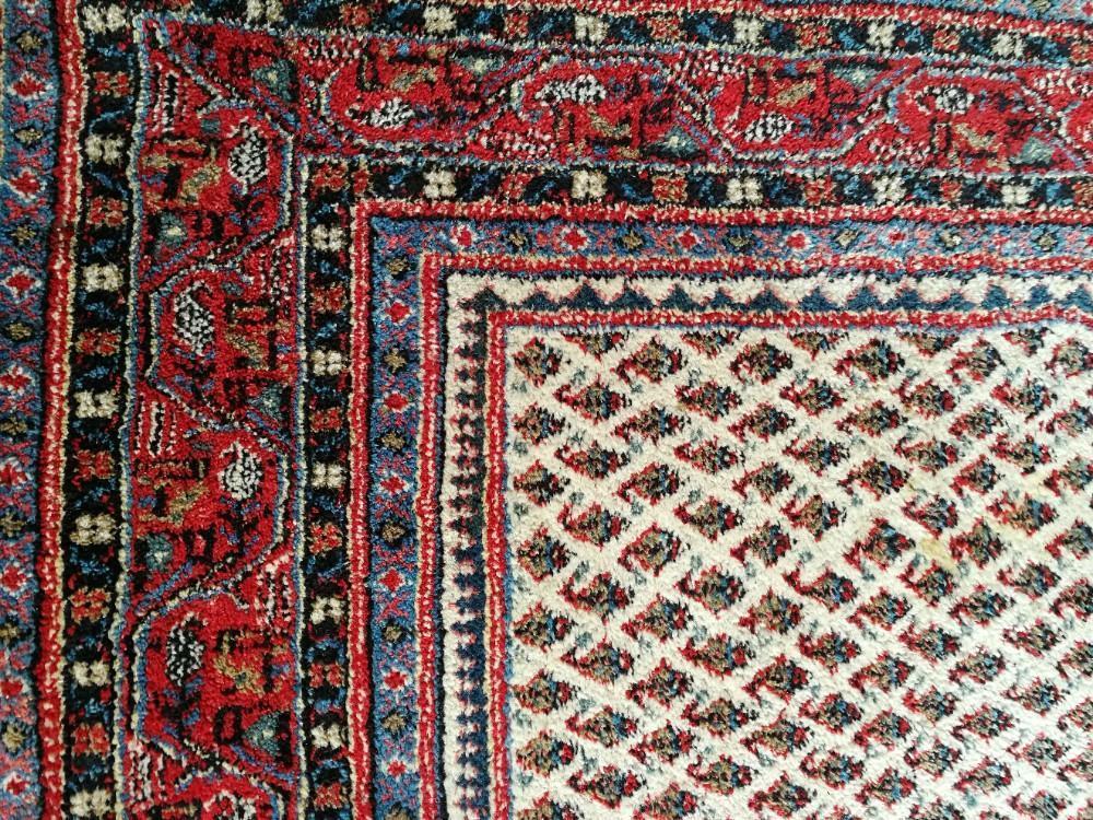 Mir Perzisch Tapijt : Groot en zwaar handgeknoopt perzisch tapijt wollen oosters